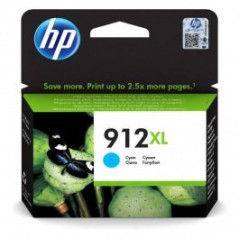 CARTOUCHE HP 912XL CYAN