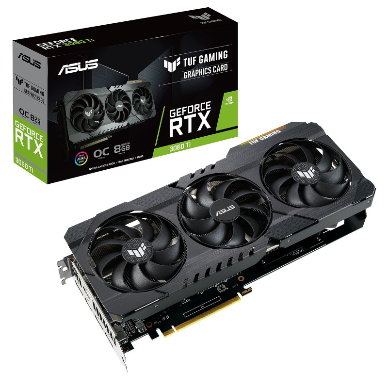 Asus GeForce TUF RTX 3060 Ti O8G GAMING