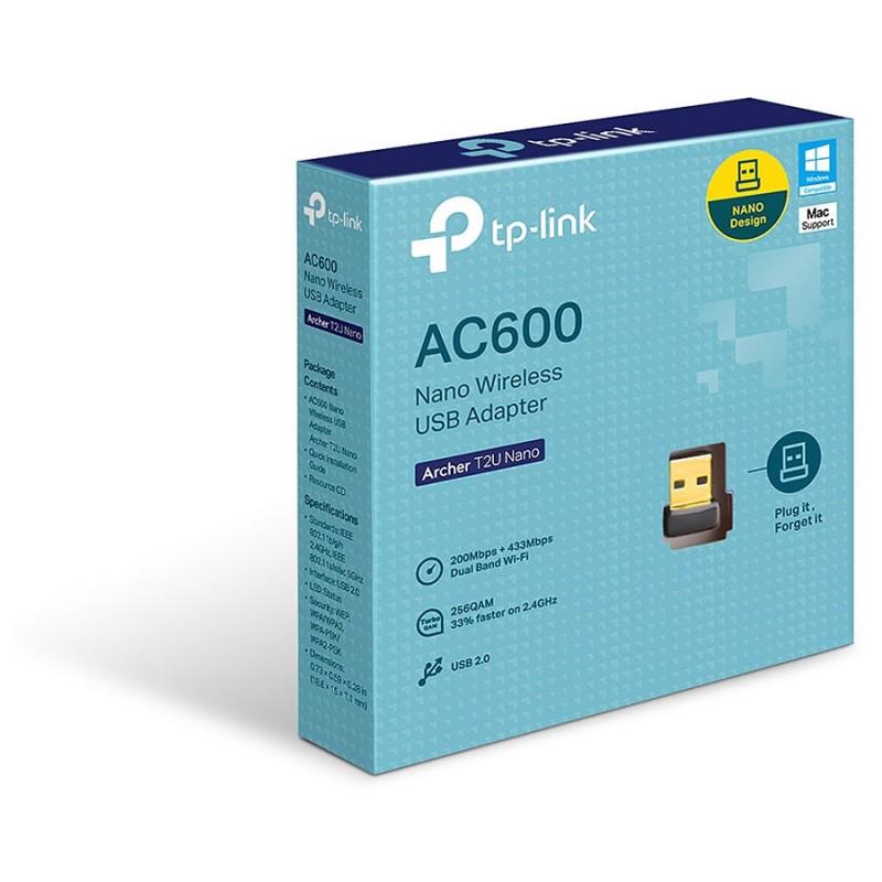 Clé USB Wifi AC600 - TP-Link Archer T2U Nano