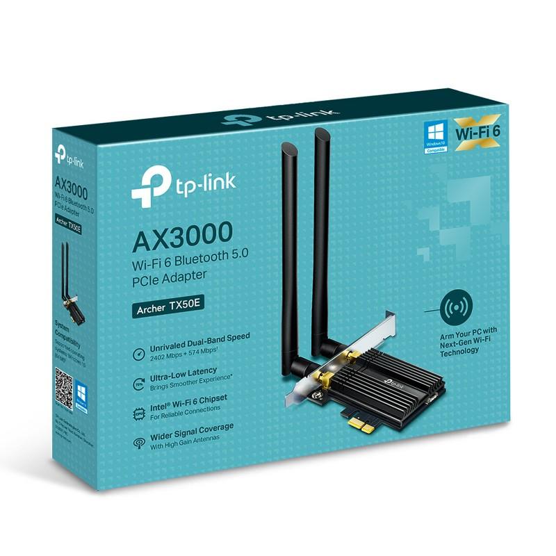 Adaptateur PCIe WIFI TP-LINK Archer TX50E